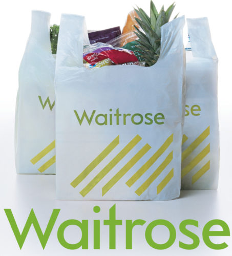 Waitrose bags logo