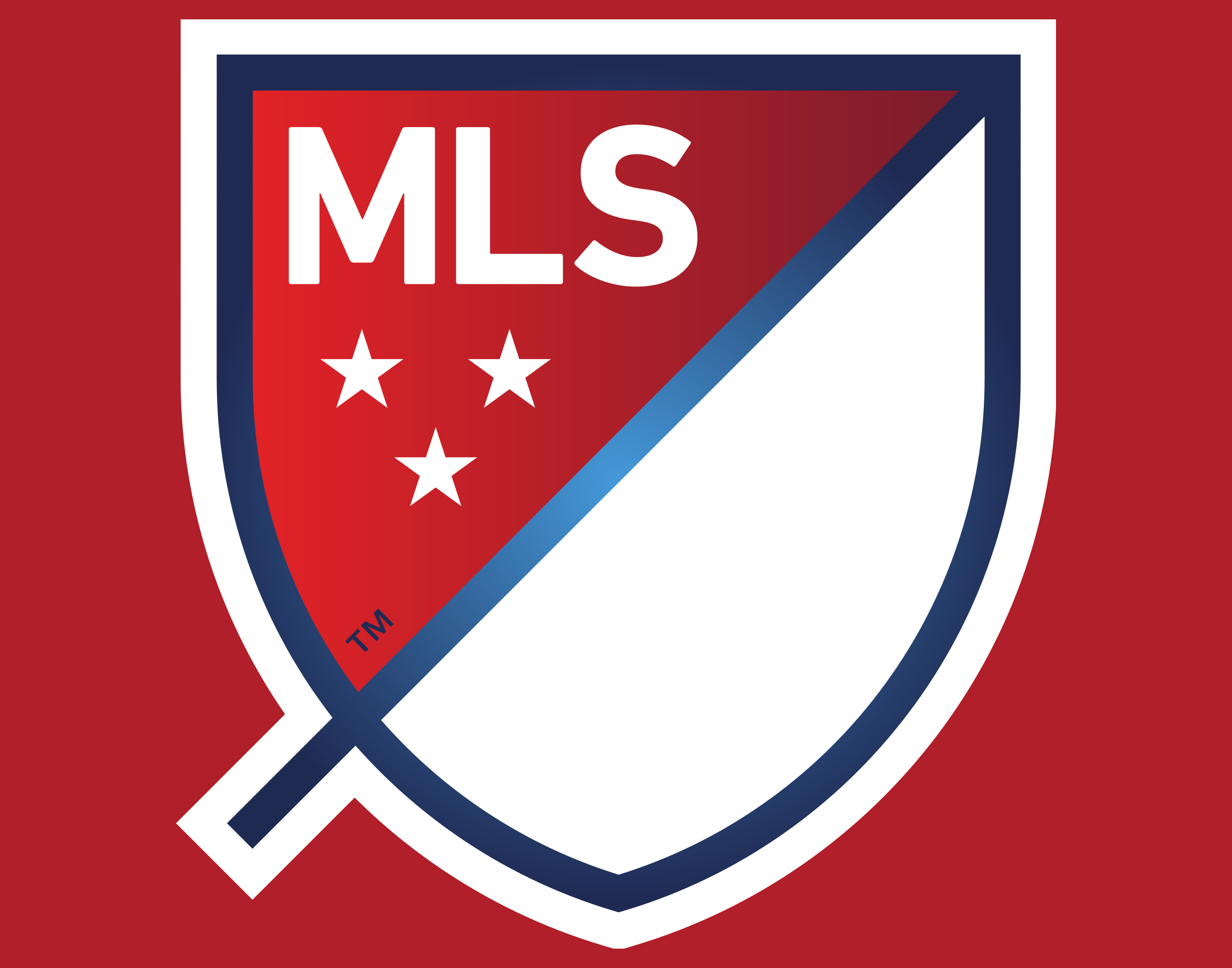 Mls logo mls symbol meaning history and evolution as the result of the 2000 redesign the logo was placed inside a black rectangular frame with rounded corners both the ball and the foot were modified buycottarizona
