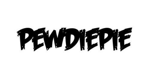PewDiePie Logo 2011