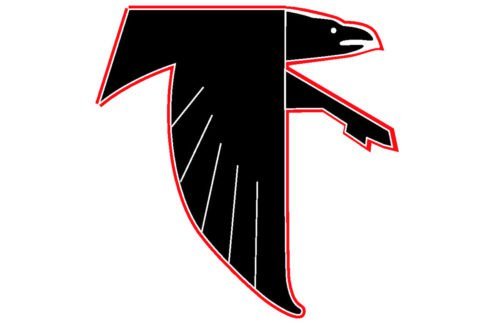 atlanta falcons old logo