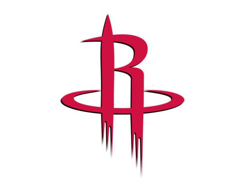 houston rockets logo color
