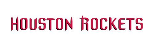 houston rockets logo font