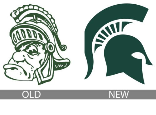 michigan state logo history