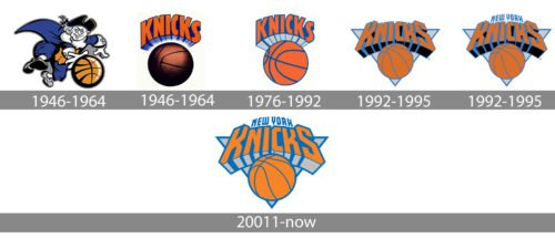 new york knicks logo history