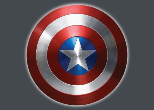 Color Captain America Logo