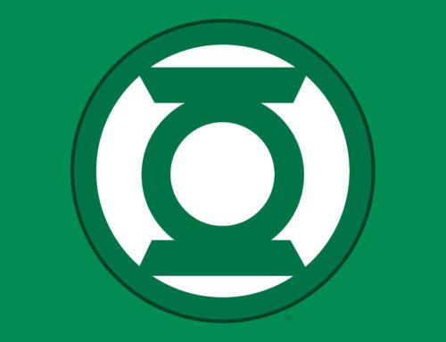 Color Green Lantern Logo