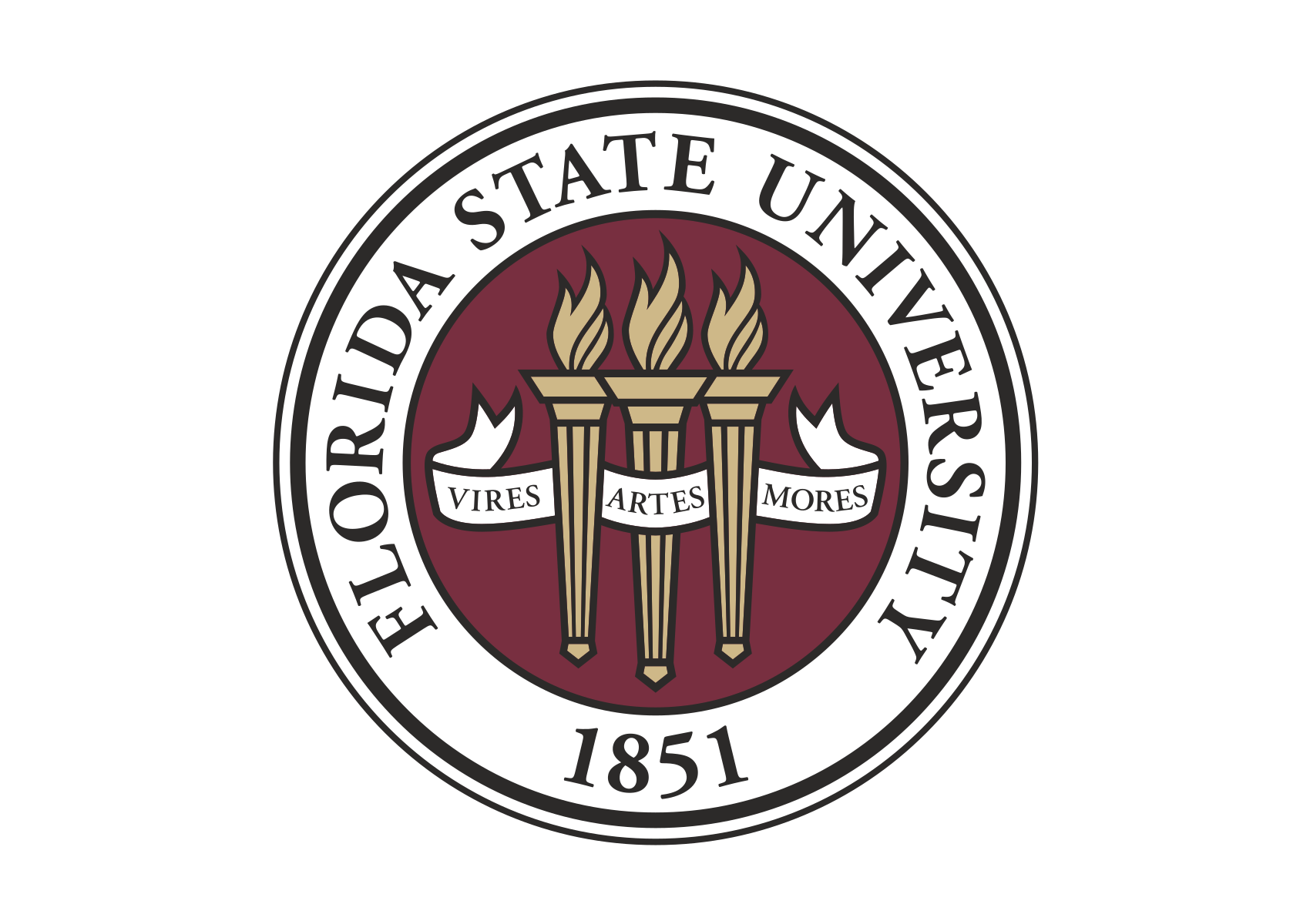 Florida State University logo and symbol, meaning, history, PNG