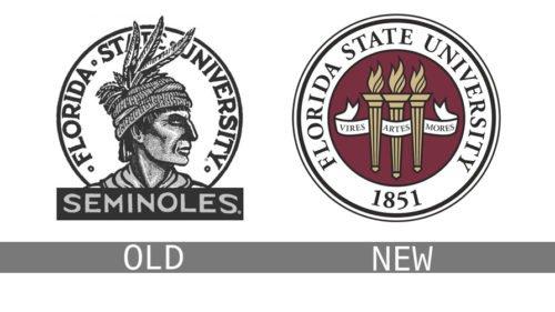 Florida State University logo history