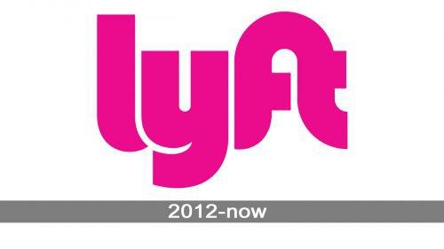 Lyft Logo history
