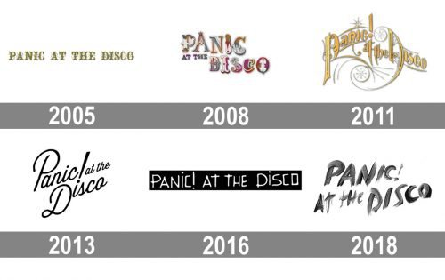 Panic at the Disco Logo history