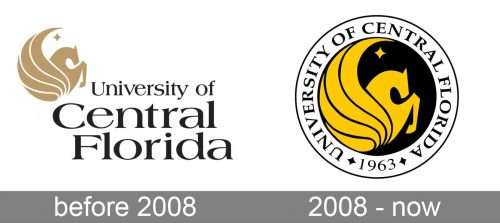 University of Central Florida Logo history