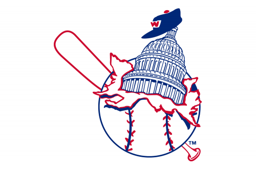 Washington Nationals Logo 1936
