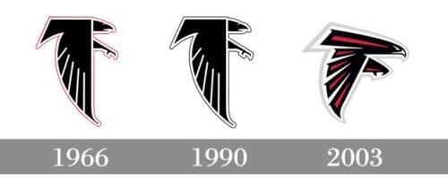 history Atlanta Falcons Logo