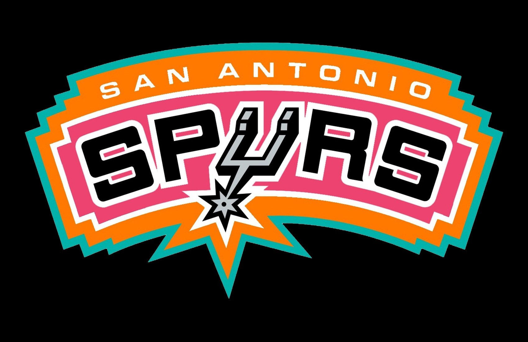 "be333a7de3a In 1973-1976, the team changed its owners, moved to San Antonio, joined  NBA, and was renamed. It was then that the iconic ""spur"" design emphasizing  the ..."