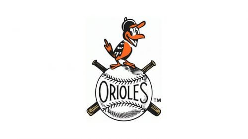 Baltimore Orioles Logo 1954