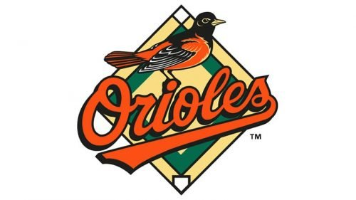 Baltimore Orioles Logo 1998