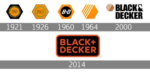 Black Decker logo history