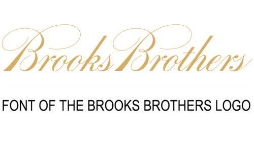 Brooks Brothers Logo font