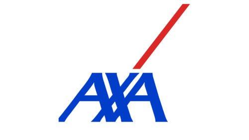 Color Axa logo