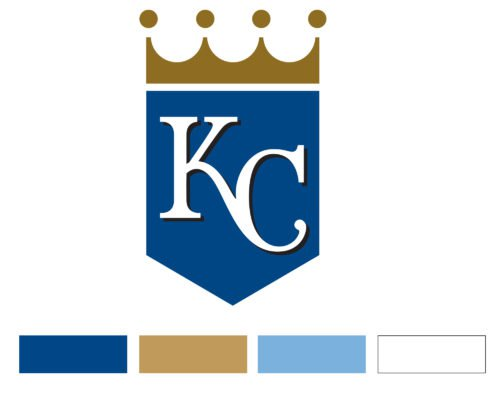 Color Kansas City Royals Logo