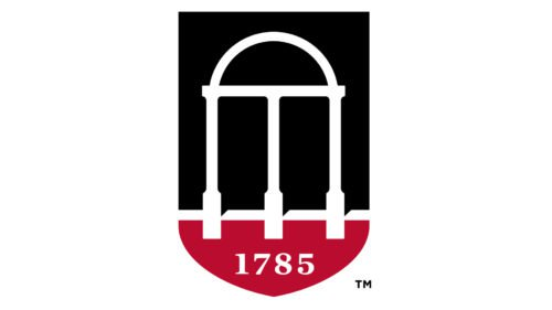 Color University of Georgia Logo