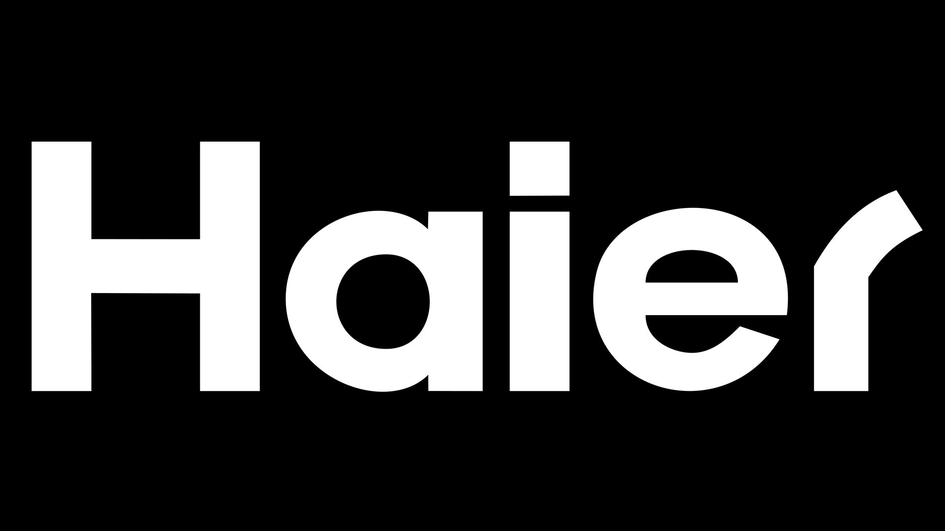 history of haier Although at first glance, the haier logotype may seem somewhat plain, if you take a closer look, you will notice the unique features making it recognizable.