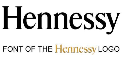 Hennessy Logo font