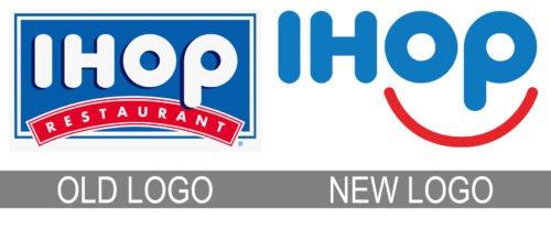 IHOP logo history