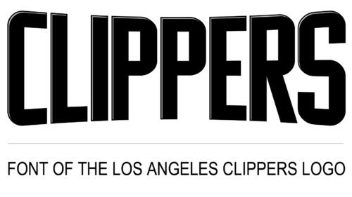 Los Angeles Clippers Logo Font