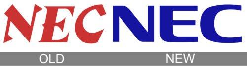 NEC logo history
