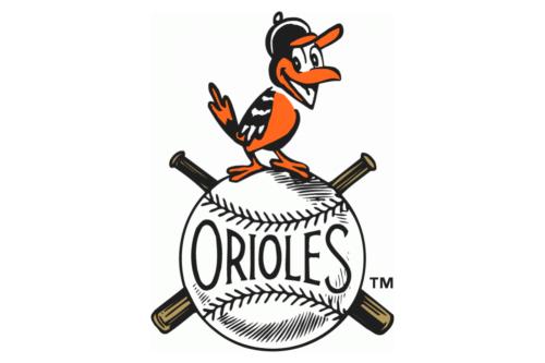 baltimore orioles old logo