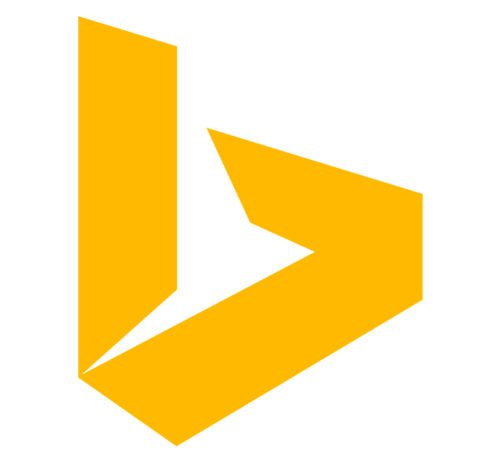 bing logo color