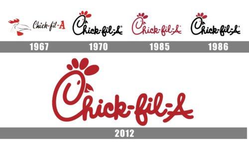 chick fil a logo history