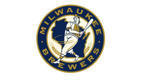 milwaukee brewers old logo