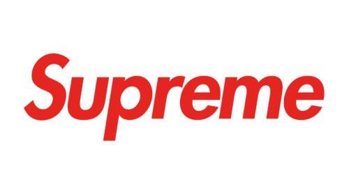 supreme logo font