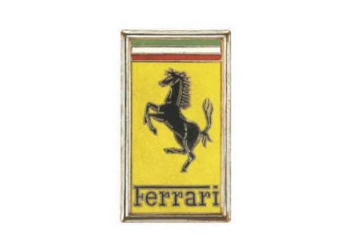 1960 ferrari logo