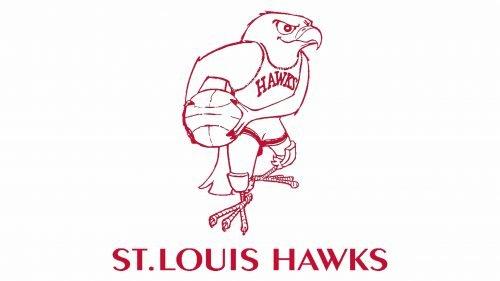 Atlanta Hawks Logo 1957