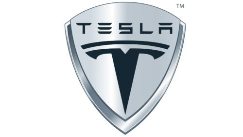 Color Tesla logo