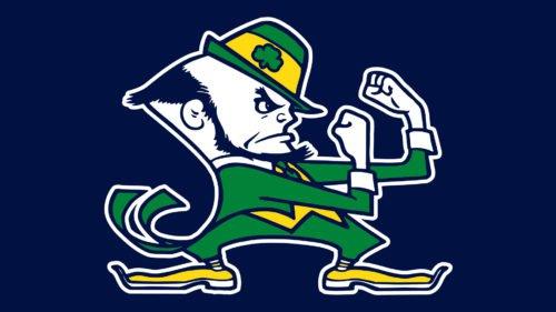 Emblem Notre Dame Leprechaun