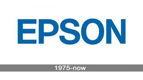 Epson Logo history