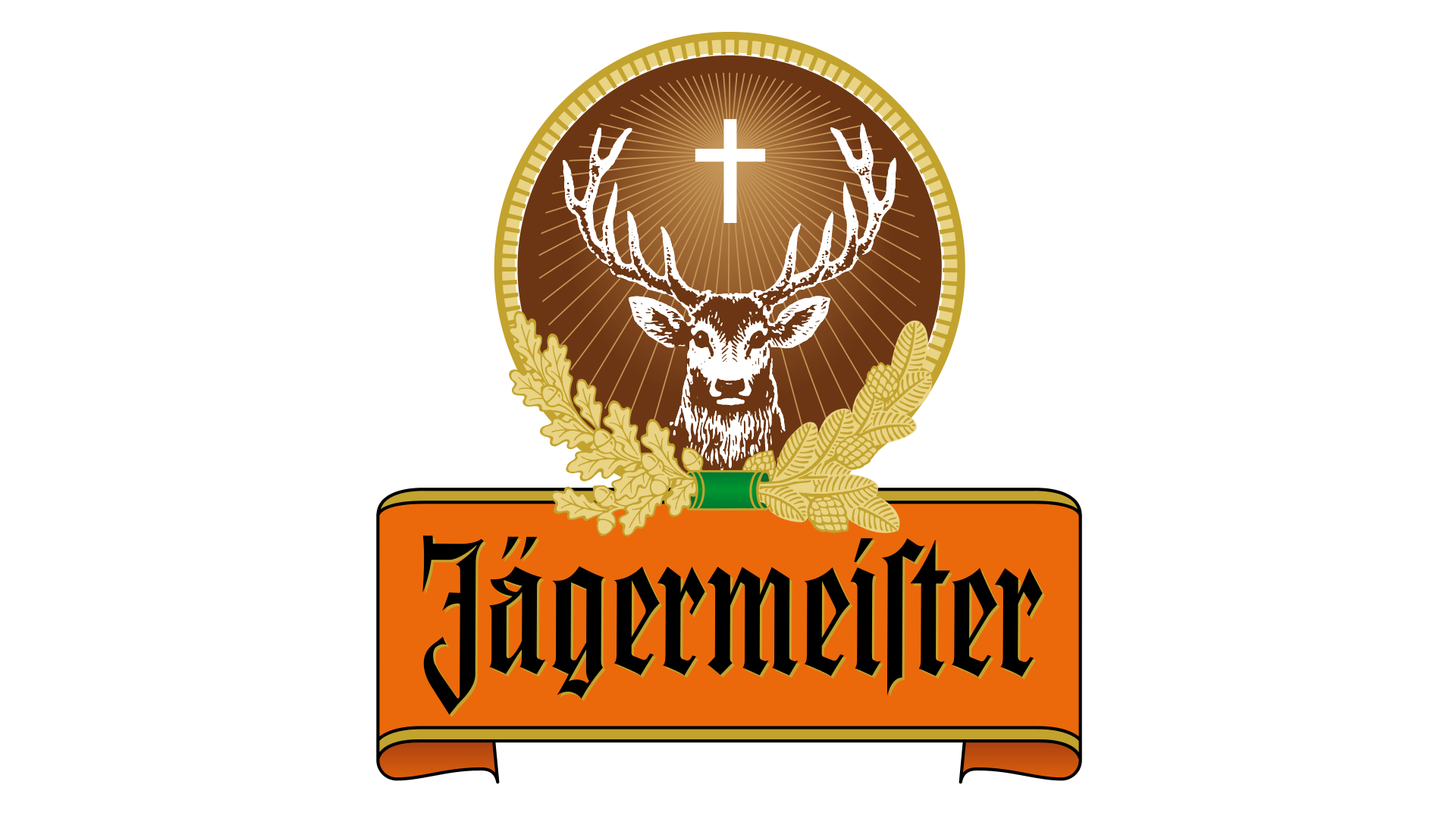 Jagermeister Logo Jagermeister Symbol Meaning History And Evolution