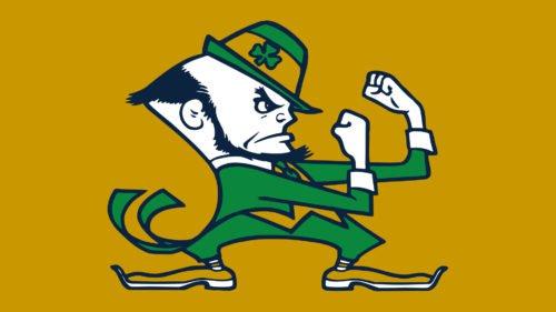 Notre Dame Leprechaun logo
