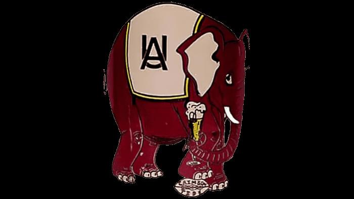Alabama Crimson Tide Logo 1952