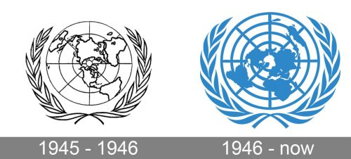 United Nations Logo history
