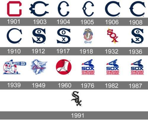 White Sox Logo history