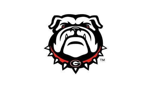 Color Georgia Bulldogs Logo