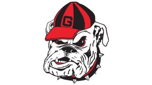 Old logo Georgia Bulldogs Logo