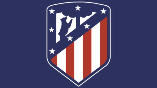 color Atletico Madrid logo
