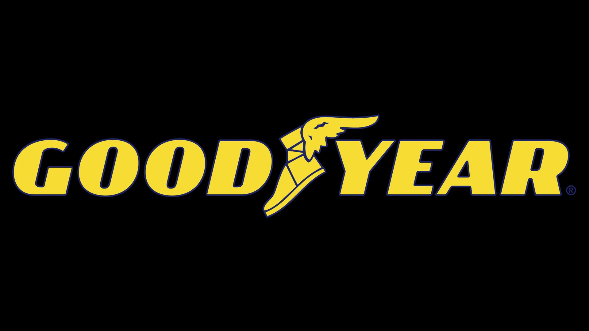 goodyear logo  goodyear symbol  meaning  history and evolution winged foot logo red winged foot logo history