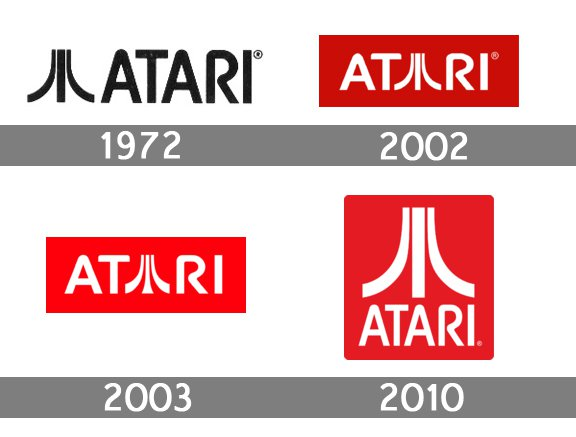 Atari Logo History